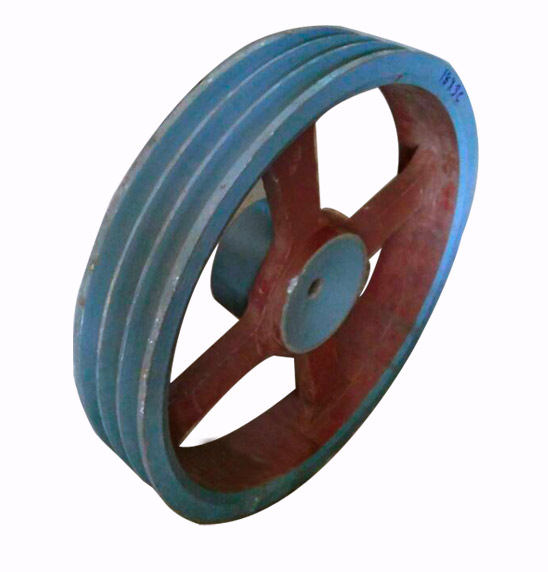 CI Double Groove Whelle Pulley Manufacturers