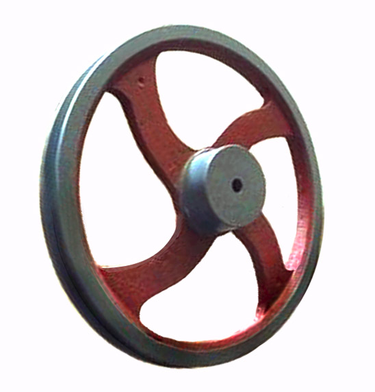 Single V Groove Wheel Pulley