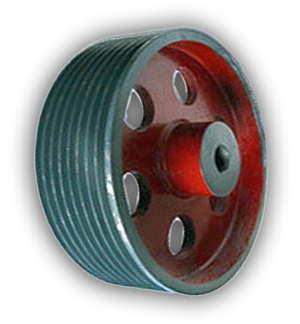 CI V Groove Cabel Roope Pulley Manufacturers