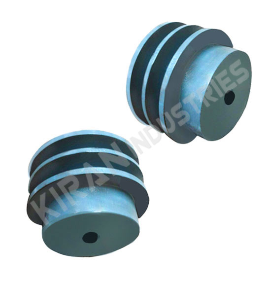 Double Groove V Belt Pulley - Two Step V Belt Pulley